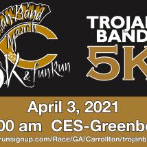 Trojan Band March 5K